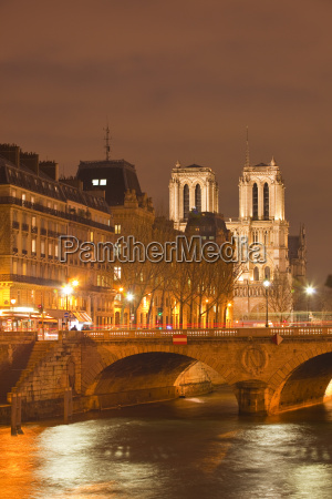 the ile de la cite and