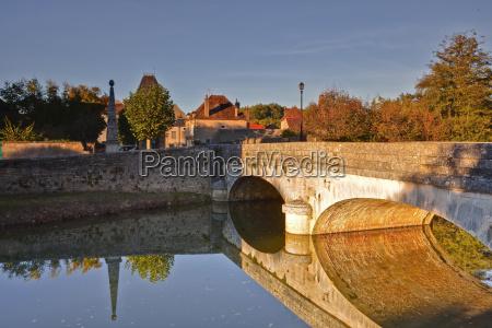 the river serein in the village