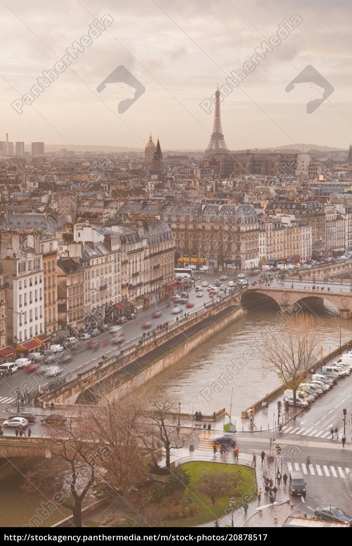 die, stadt, paris, von, notre, dame - 20878517