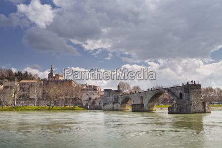 saint benezet bridge dating from the