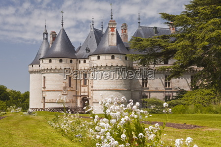 das renaissanceschloss in chaumont sur loire