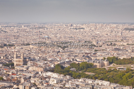 the rooftops of paris from tour