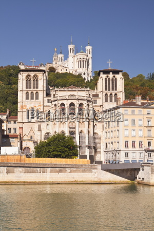 lyon cathedral with notre dame de