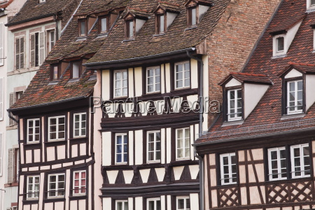 half timbered houses in la petite