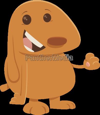 puppy cartoon character