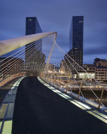 the zubizuri footbridge designed by architect