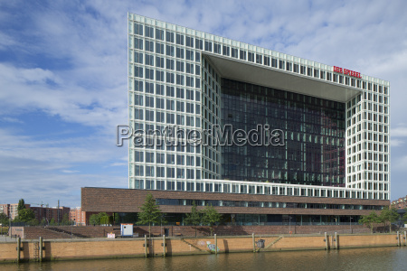 der spiegel building hamburg germany europe