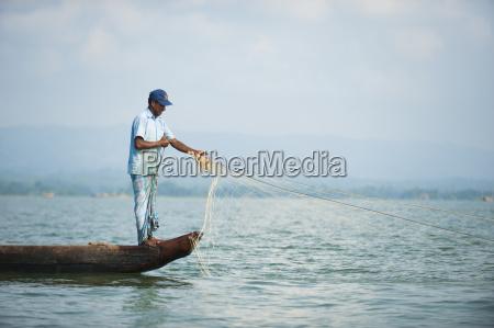 fishing boats on kaptai lake chittagong