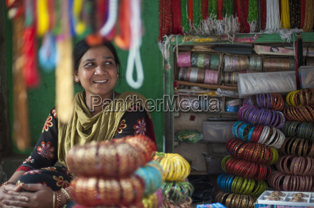 a bangle stall in patan an