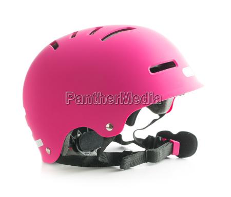 rosa fahrradhelm