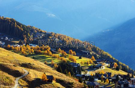 village of riederalp jungfrau aletsch unesco