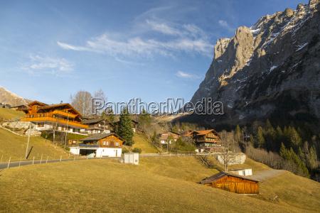 the wetterhorn grindelwald jungfrau region bernese