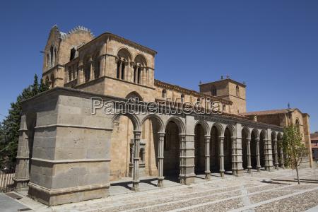basilica de san vicente avila unesco