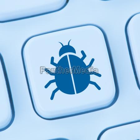 computer virus trojaner sicherheit im internet