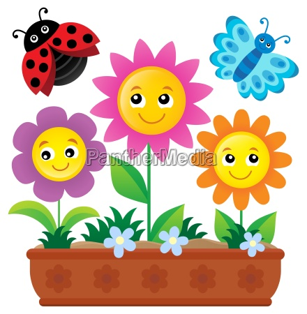 flower box theme image 1