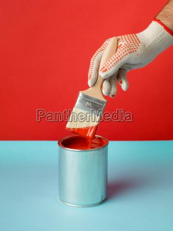 blue blood paint