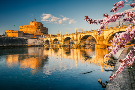 santangelo fortress at spring rome
