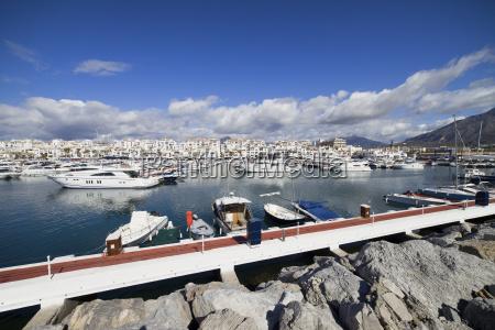 spain andalucia marbella puerto banus resort