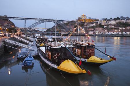 portugal porto gaia tourboats and ponte