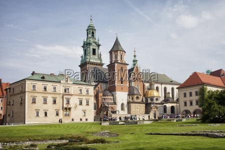 poland krakow wawel royal castle