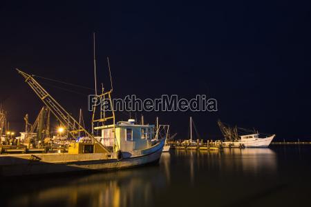 usa texas fishing boats at gulf