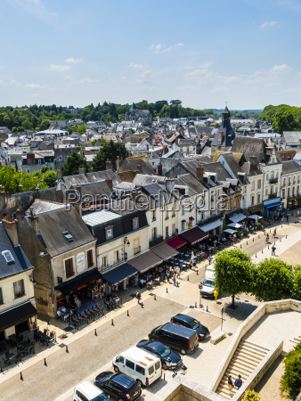 france amboise view to the old