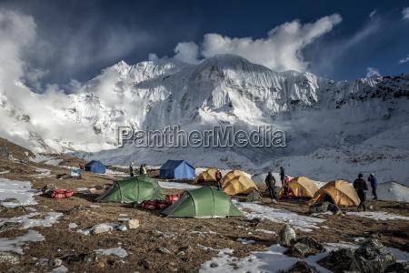 nepal khumbu everest region island peak