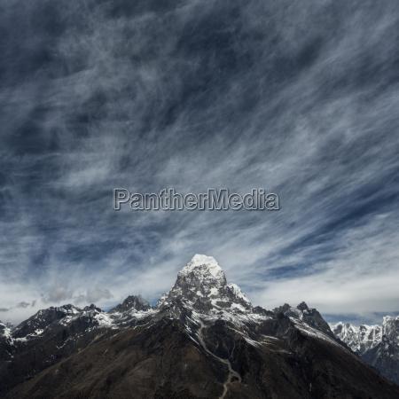 nepal himalaya khumbu khumjung