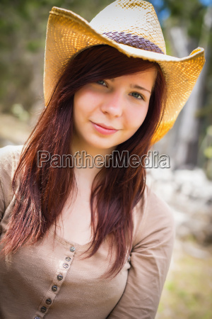 usa texas portrait of young woman