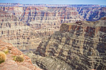 usa arizona view of grand canyon