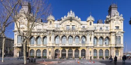 spanien barcelona u200bu200bport vell ehemaliges zollgebaeude