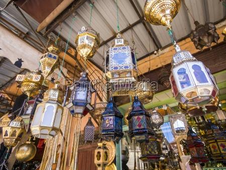 marokko marakesh medina stand mit orientalischen