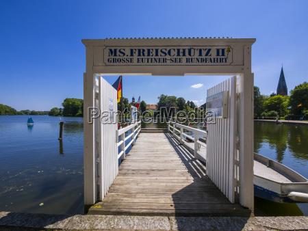 deutschland schleswig holstein eutin anlegestelle