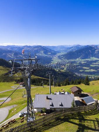 austria tyrol kitzbuehel alps kitzbuehel view