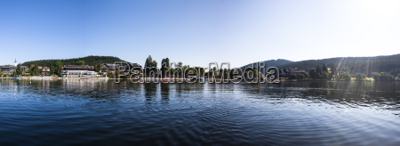 germany baden wuerttemberg view of lake