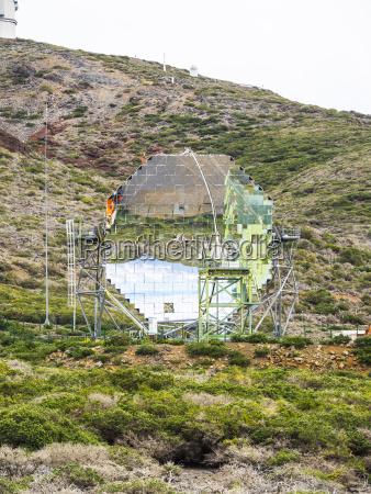 spanien kanarische inseln la palma observatorium