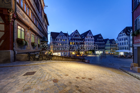 germany baden wuerttemberg market square with
