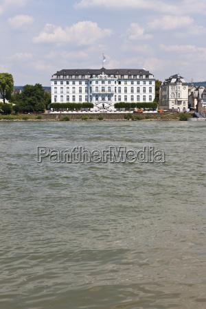 germany rhineland palatinate neuwied view of