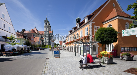 germany bavaria view of market square