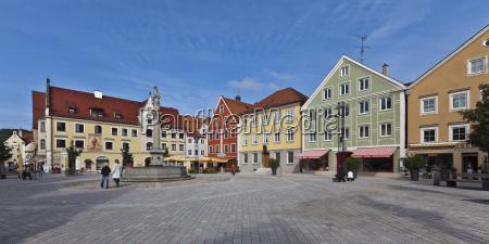 germany bavaria view of marienplatz