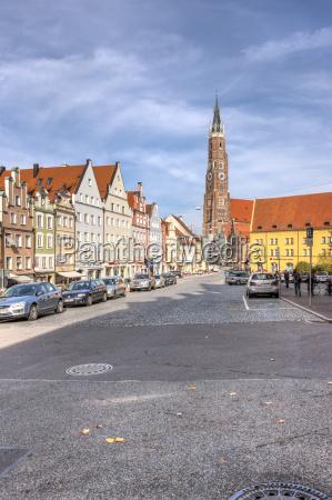 germany bavaria landshut st martins church