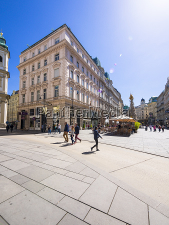 austria vienna restaurants at graben