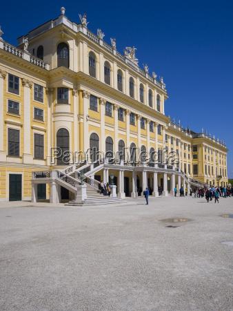 austria vienna schoenbrunn palace