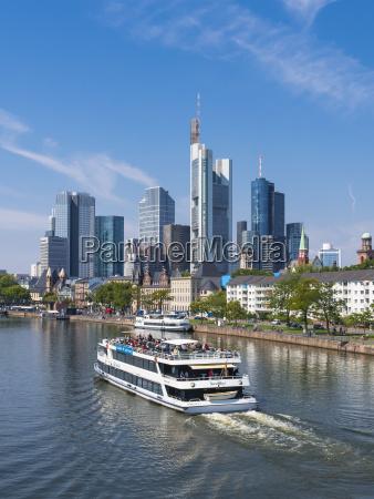 deutschland hessen frankfurt am main ausflugsschiff