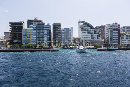 maldive male il porto e lingresso