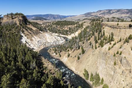 usa yellowstone national park yellowstone river