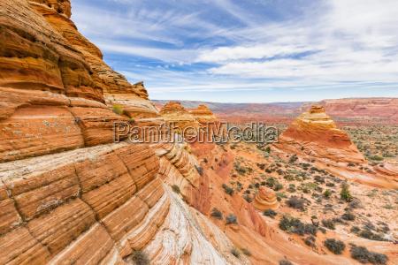 usa arizona seite paria canyon vermillion