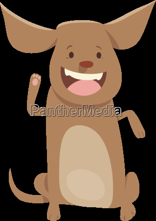 puppy or dog cartoon character