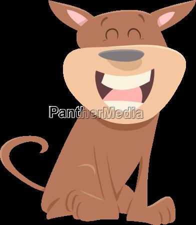 cartoon dog animal character
