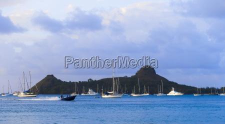 karibik kleine antillen st lucia yachten